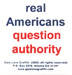 Real Americans Question Authority